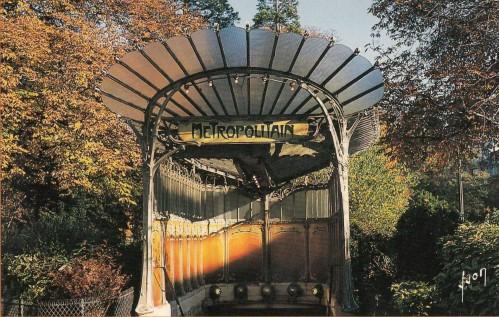 Paris-metro-porte-Dauphine (Photo from Internet)