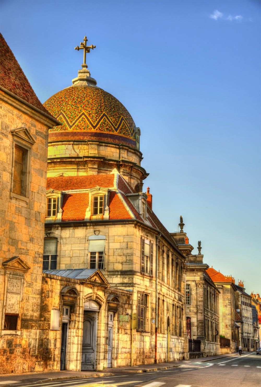 Hospital Saint-Jacques of Besancon - France, Doubs